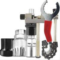 Werkzeuge 5 stücke Kurbel Extraktor Demontage Kettenbrecher Pullover Peitsche Kassettenkrümmer Fahrrad Reparatur Werkzeug Set Mountainbike Cutter
