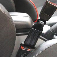 Safety Belts & Accessories 2 Pack Car Seat Belt Extender Universal Extension Compatible Stopper Plug Kit-Black