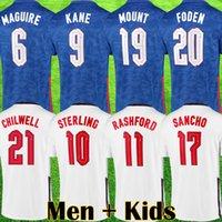 England Thailandia 20 21 della Nuova Inghilterra del pullover di calcio Vardy RASHFORD DELE 2020 bambini Nazionale di calcio kit di calcio top Camicie