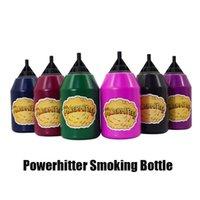 2021 Powerhitter Smoking Outils Accessoires Puissance Hitter Party Boules Puff Squeeze Squeez-vous Handal inhalateur spacer bouteille de fumée pour plusieurs personnes DHL