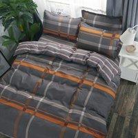 مجموعات الفراش 3/4 قطعة مجموعة لحاف يغطي نحى طباعة لحاف غطاء ورقة سادة أغطية السرير 150x200 سنتيمتر / 180x220 سنتيمتر / 200x230cm / 220x240cm