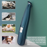 Hair Clippers Dog Grooming Cordless Cat Puppy Clipper Low Noise Electric Pet Trimmer For Trimming The Around Paws