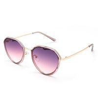 Hohe qualität eyewear 20226 sonnenbrille marke sonnenbrille mode männer frauen designer sonnenbrille runde brille herzförmige brillen metall occhiali da sohle