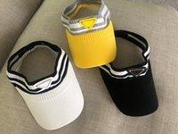 Briefkappe Casual Sommer Visier Design Hut Sport Mens Frauen Golf Tennis Outdoor Beach Stirnband Snapback Baseball Hüte
