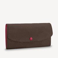 Mulheres luxurys designers bolsas 2021 Functional wallet belamente projetado feito de lona macia alinhada com forro de cor brilhante elegante temperamento multi-bolso