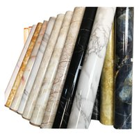 Wall Stickers Waterproof Self Adhesive Wallpaper For Bathroom Decor PVC Marble Contact Paper Kitchen Countertops Peel And Stick