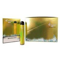 Orijinal E-Sigaralar Vidge Mini 2in1 Tek Kullanımlık Pod Cihazı Vape 2% 2 ML 600Puffs 400 mAh Pil 5 Seçenekler 1pack Var 3 adet