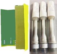 C Gold Full Ceramic Vape Cartouche de Vape 10 Couleurs Emballage sans plomb Atomiseurs jetables Vapes jetables Paniers à cigarettes 0.8ml 1 ml d'épaisseur d'épaisseur 510 Thread Atomzier