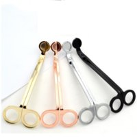 Candle Wick Trimmer Cutter Stainless Steel 6.9 Inch Oil Lamp Candle Accessories Trimmer Scissors Cutter Snuffer Tool Hook Clipper 51