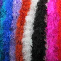 Украшение партии 4-5см 2 метра / лота красочные страусы перо боа страуса перья обрезать свадебные перья украшения полосы шали перья для CR