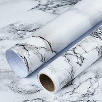 Art3D 17.7inx78.7In Marble Contact Wallpaper Countertops - zelfklevende lading voering waterdicht, peel en stick, gemakkelijk afneembaar