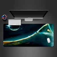 마우스 패드 손목은 슈퍼 독특한 스타 마우스 패드 노트북 키보드 잠금 가장자리 고무 빨 수있는 패드 대형 오피스 홈 쿨 매트 게이머로