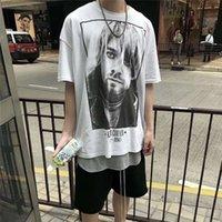 2021 Peur de Dieu Kurt Cobain Rock Band Vintage photo Tee-planche à skateboard Tshirt Brouillard Hommes Femmes Sans manches courtes Casual T-shirt