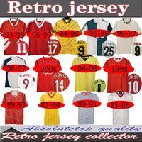 04 05 Retro Soccer Jersey Gerrard 1982 FOWLER DALGLLISH 10 11 Football Shirts Torres 1989 Maillot 85 86 Kuyt 08 09 Suarez 1995 93 Mcmanaman
