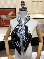 2021 Top designer woman Silk Fashion Letter Headband Brand Small Scarf Variable Headscarf Accessories Activity Gift w06