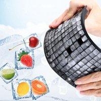 Eis Eimer und Kühler 1x1 cm 160 Gitter Würfel Tablett Silikon Fruchthersteller DIY Kreative Kleine Form Quadratische Form Küchenzubehör