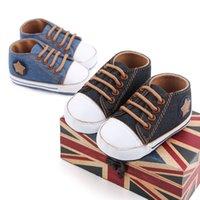 أحذية أطفال ووكر الربيع والخريف الدانتيل يصل قماش المشي لينة سوليد 2713