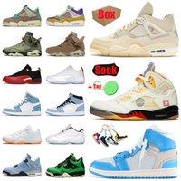 أحذية Nike Air Jordan 1 Mid Milan Retro أحذية كرة السلة للرجال والنساء Jordans Shoes 4 Sail High Off White 5 What The Jumpman 11 Citrus Low Easter 12 Travis Scott 6 أحذية رياضية