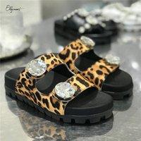 Ollymurs جديد أزياء نمط المرأة الصيف النعال المفتوحة تو كريستال النساء الأحذية مسطحة النعال عارضة أحذية مريحة امرأة b8ap #