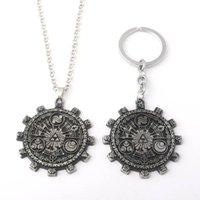 Zelda Bronze Retro Cartoon Keychain Chains Necklace For Men Women Boys Fans Accessories Jewellery Choker Kpop Collares Pendant Necklaces