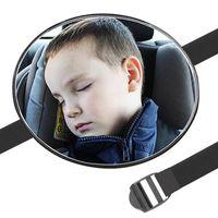Autres accessoires intérieurs EAFC Baby Car miroir Sécurité Vue arrière SIÈGE RESENU DU PARTIE CHANDAIRE SOCIAT SQUARE SQUARE KIDS Monitor 17 * 17cm