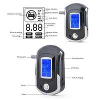 Alcoholism Test Digital Breath Alcohol Analyzer Tester LCD Breathalyzer +20 Mouthpieces Car Accessories