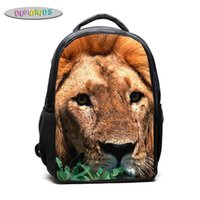 Backpack Women's Cute Bags Gifts Animals Lion Print Shoulder Multicolor Baby Canvas Women Cat Bag Kids Crossbody
