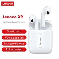 Lenovo X9 Беспроводные наушники TWS Наушники Bluetooth IPX5 Водонепроницаемая стерео Sport Guestseet с зарядкой 300 мАч