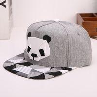 الهيب هوب قبعات الباندا قبعة بيسبول الرجال والنساء الطيور خمر زوجين قبعة في الهواء الطلق الأزياء تنفس عارضة الكرة القبعات ظلة