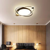 Tavan Işıkları Mdwell Modern Yatak Odası Çocuk Odası için LED LED Oturma Lambası Siyah / Gri / Pembe / Yeşil Renk 110 V 220 V