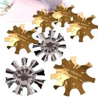 Nail Art Kits Cut V Line Tool Manicure Template Edge Stencil Trimmer Easy To Clean Care Stamping Plate Molds For Female
