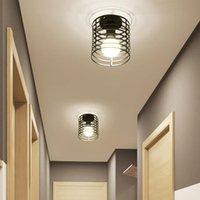 Ceiling Lights Industrial Vintage Light Modern Retro Loft Lamp For Living Room Kitchen E27 LED Home Lighting Cage Fixture Decor