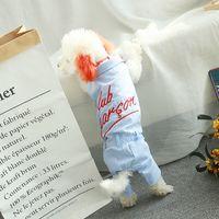 Хлопчатобумажная собака одежда пара домашних животных комбинезон для собак комбинезон собаки домашние животные одежда для собак французский бульдог домашних животных продукты домашних животных куртка 1177 v2
