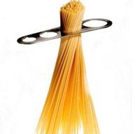 Outils de mesure Cuisine, bar à manger Goutte de jardin Livraison 2021 Acier inoxydable Sier Sèt Spaghetti Pâtes Mesures Stick 4 Service Contrôle des portions