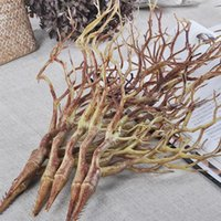 Decorative Flowers & Wreaths 2pcs Simulation Dry Plant Tree Branch For Wedding Party DIY Abstract Dead Wood Craft Artificial Dried Branches
