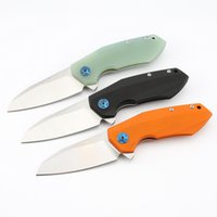 ZT0456 Quick Opening Knives G10 Handle Pocket Hunting Folding Outdoors Tool Survival Tactical Camping knife