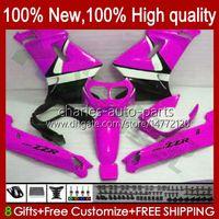 Kawasaki Ninja Glossy Rose New zzr250 90 91 92 93 94 1999 1996 1997 1998 1999 Bodywork 54HC.147 ZZR 250 CC ZZR-250 1990 1991 1992 1993 1994 95 96 97 98 99 OEM 페어링