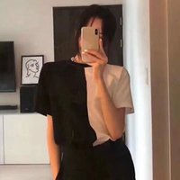 2020ss Womens Mens Designer Tshirts Letter frame Printed Fashion women T-shirt Top Quality Cotton Casual Tees Short Sleeve Luxe T Shirts