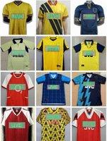 Retro Gunners Soccer Jerseys Camicie Pires Henry V. Persie Fabregas Rosicky Reyes Vieira Bergkamp Football 05 06 90 91 93 94 98 99 02 04 07 97
