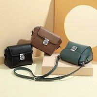 Mini Fashion Women Shoulder Bag Leather Trendy Small Shell Crossbody Bags Festival Casual Handbag 2021
