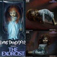 12Inch 30 cm MEZCO Horror lebende tote Puppen Die exorzistische Verbindung Bewegliche Action Figure Spielzeug Horror Halloween Geschenk Q0722