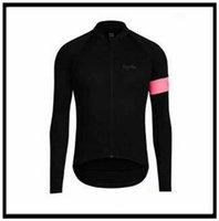 Rapha Team Велоспорт Длинные рукава Джерси Одежда MTB гора дышащая гоночная спортивная одежда Велосипед Maillot мягкая кожа 50493