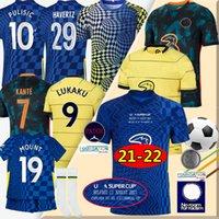 Chelsea fc 2021 2022 Fußball Trikots  FA Cup Finale Wembley soccer Jerseys 21/22 Havertz Kante Werner PULISIC Abraham Männer + Frauen + Kinder Kits Fußball Trikot