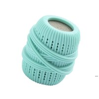 قابلة لإعادة الاستخدام decottmination تنظيف الكرة منتجات الغسيل مكافحة تشابك حماية TPE غسيل الملابس كرات لغسالة الملابس FWE6839