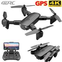 4DRC F6 GPS DRONE CON LA CÁMARA 5G RC Quadcopter Drones HD 4K WIFI FPV Plegable Off-Point Fotos Video Dron Helicopter Toy