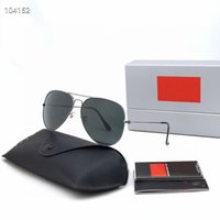 Melhor venda Moda Mens Retro Aviador Sunglasses Vidro Óculos De Sol Toad Espelho Óculos Drive Driving Driving óculos de Óculos para homens e mulheres Etzhzeh