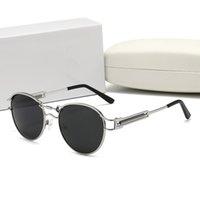 خشبي الجاموس النظارات الشمسية مصمم الخشب حالة عدسة الرجال النساء أزياء براون العلامة التجارية واضحة ل medusaity 7735 نظارات مع صندوق fr skqdh