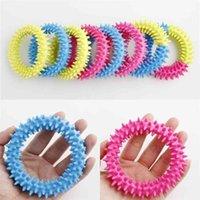 US ussift fidget игрушки Spiky Sensosory кольцо декомпрессионный цепь колючий браслет стресс тревога рельеф сдавливание стринги