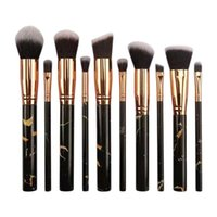 Eyelash Curler 10 Pcs Soft Set Of Makeup Brushes Kits For Highlighter Eye Cosmetic Powder Foundation Eyebrows Shadow Professional Cosmetics