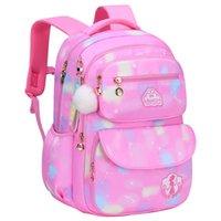 School Bags Children Backpack Primary Satchel Kids Book Bag Princess Schoolbag 2 Size For Girls